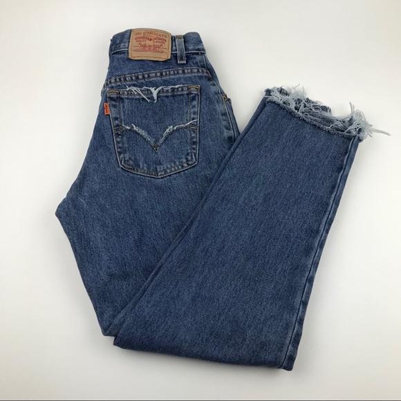 Levi's Denim - Vintage LEVI'S Orange Tab Custom Jeans REQUESTED!!